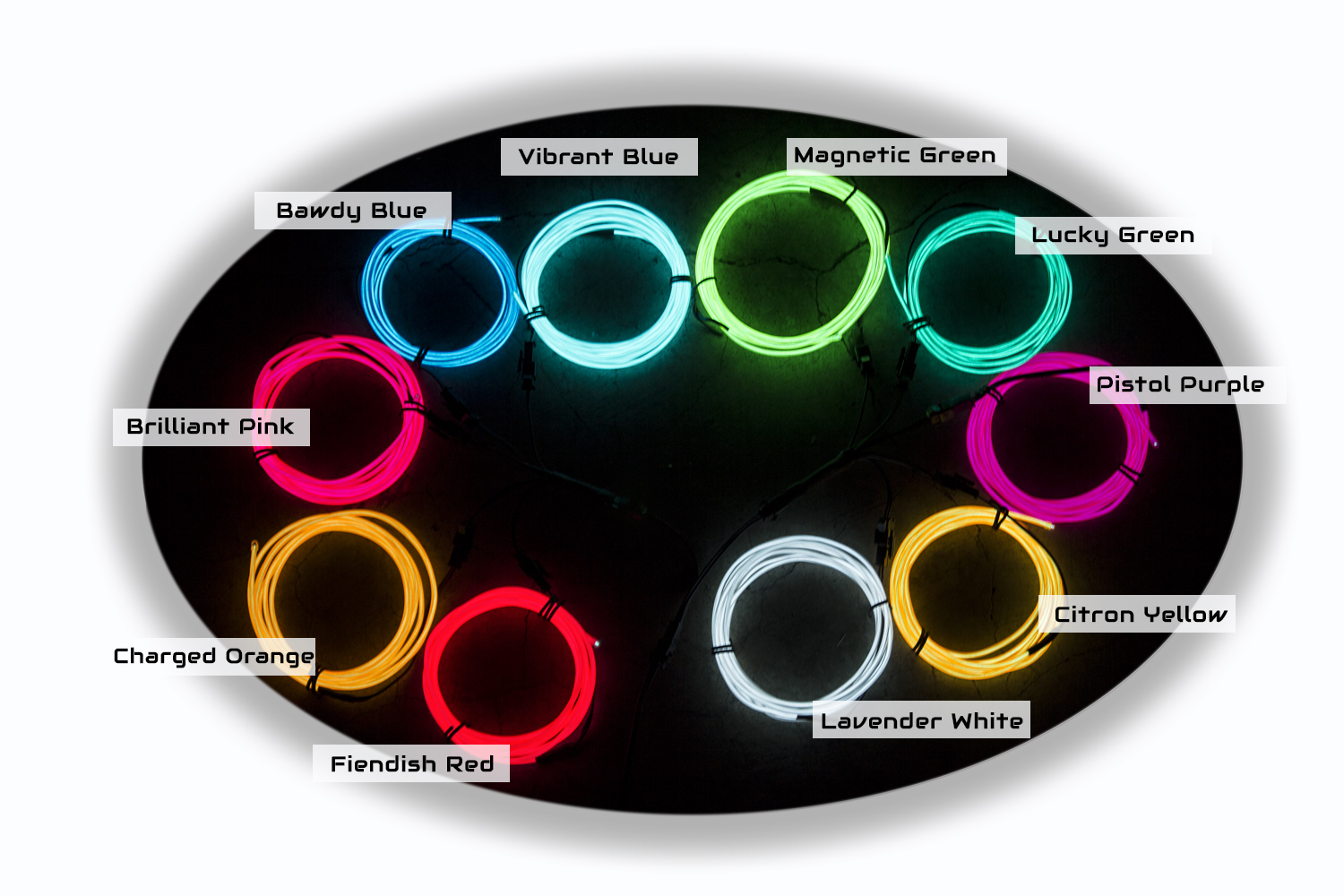 ellumiglow el wire is the brightest longest lasting el wire