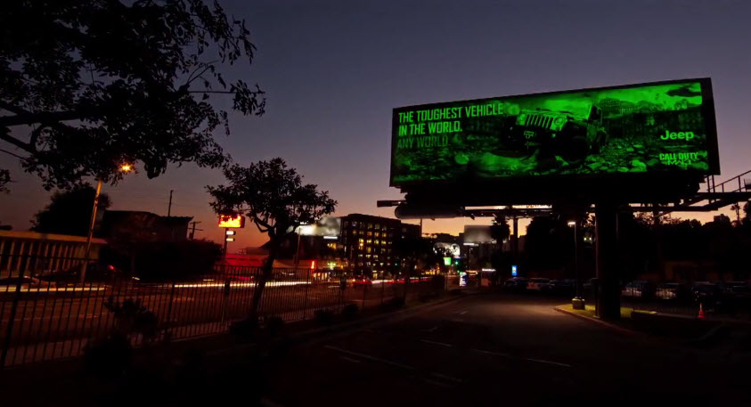 Electroluminescent Billboard