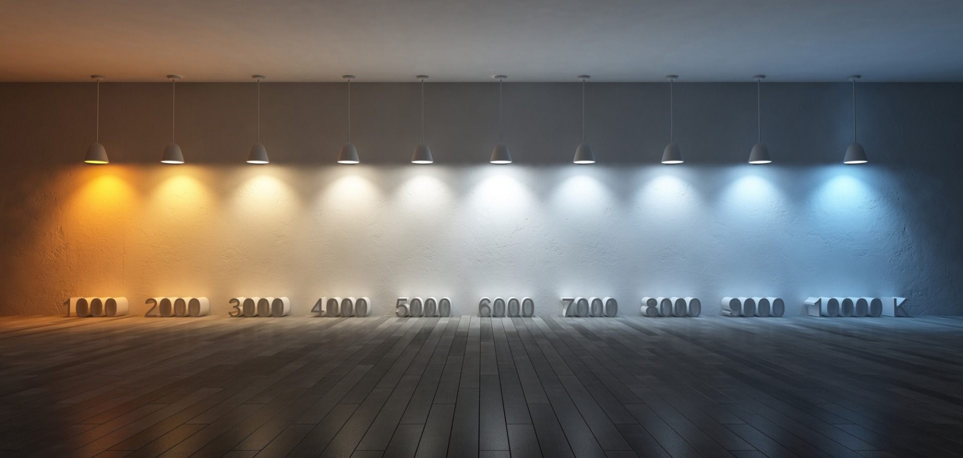 color temperature of lights