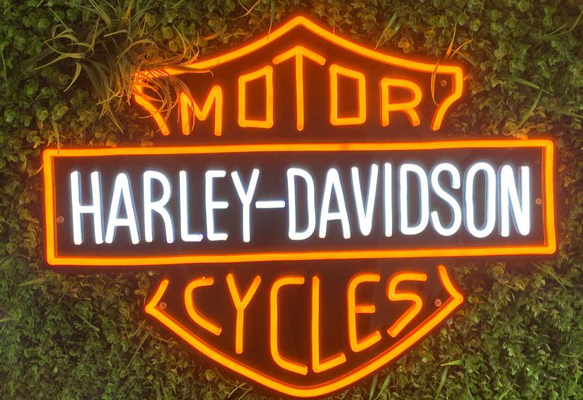 custom motorcycle neon
