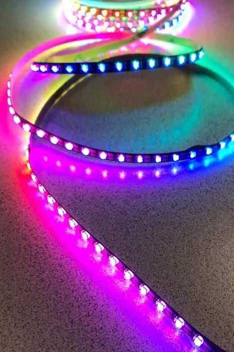 smart pixel micro led strip light