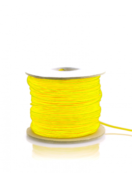 Ellumiglow Citron Yellow EL Wire Turned ON