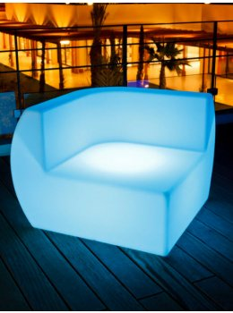 Smart & Green LED Glow Side Sectional