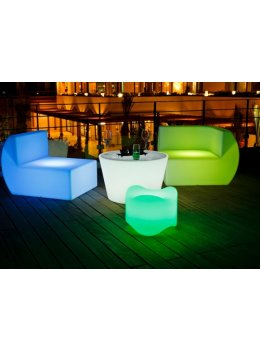 Illuminati LED Glow Coffee Table