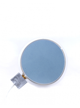 VynEL™ Sphere Panel Light - Vibrant Blue front