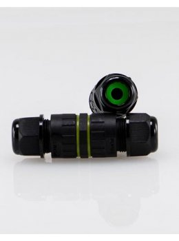 IP68 Outdoor Grade 3-Pin DC Connector Junction Box