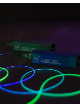DualDrive Multicolored SUPER POP 2M Laser Wire™ System Blue and Green