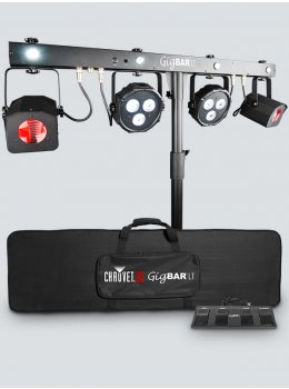 Gig Bar Flex Includes: wireless footswitch, carry bag