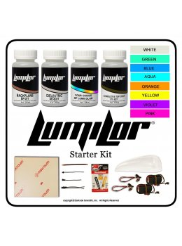 Lumilor BASE EL Paint 4oz Starter Kit