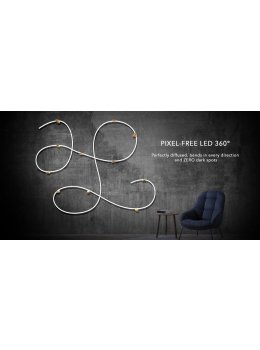 Pixel-Free LED™ 360° - 2.5M Flexible LED Tube Light