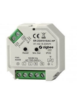 Zigbee AC Phase Cut Dimmer (110V) - Control Any Fixture With A Smart Hub
