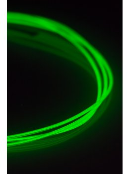Ellumiglow 1.2mm Magnetic Green EL Wire (Sold By The Foot)