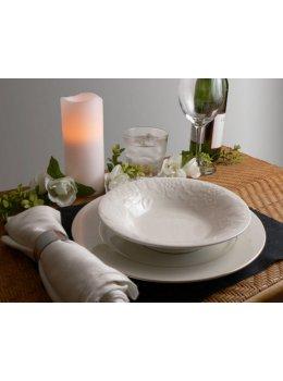 LED Votive Candles on wedding setting