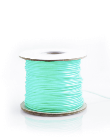 Vibrant Blue EL Wire - Sold By the Foot