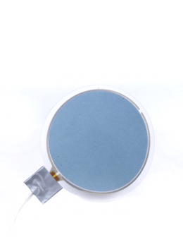VynEL™ Sphere Panel Light - Vibrant Blue front