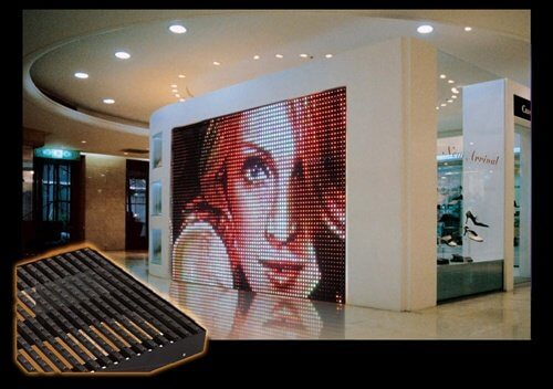 Ellusion LED Outdoor Mesh Screen