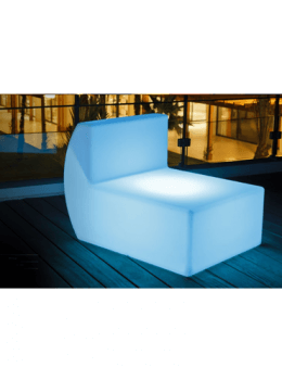 Illuminati LED Glow Sectional Middle