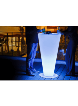 Illuminati LED Glow Bar Table