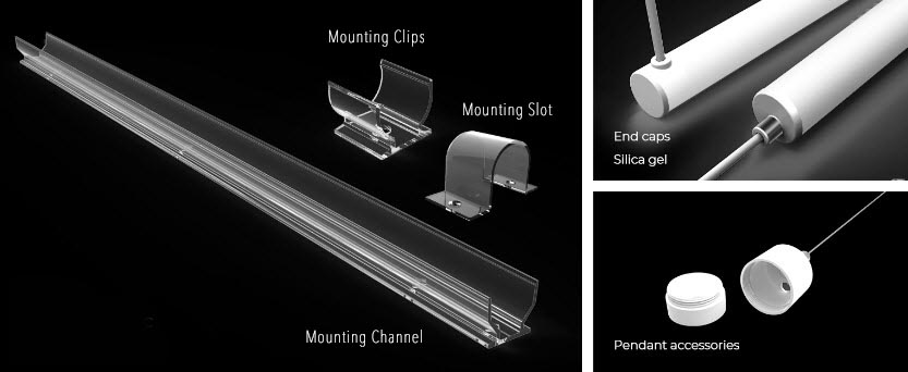 Pixel-Free LED 360 Mounting Accessories